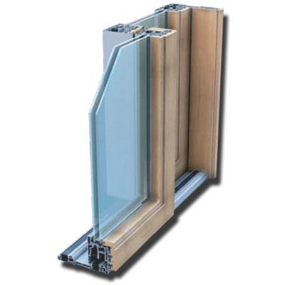 Scorrevole Alluminio/Legno